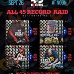 All 45 RECORD RAID